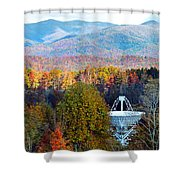 26 East Antenna And The Blueridge Shower Curtain
