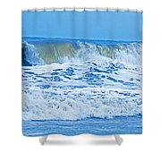 Hurricane Storm Waves Shower Curtain