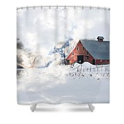 Idaho Falls Shower Curtain