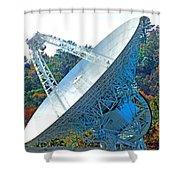 26 West Antenna Filtered Shower Curtain