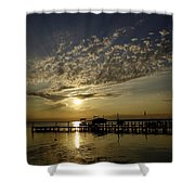 An Outer Banks Of North Carolina Sunset Shower Curtain