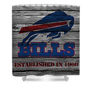 Buffalo Bills Shower Curtain