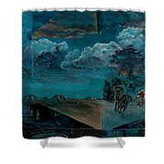 Title Unknown Shower Curtain