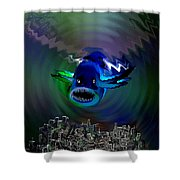 278 -   The Custodian Of Atlantis Shower Curtain