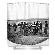 Civil War Black Troops Shower Curtain