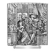 Dance Of Death, 1538 Shower Curtain