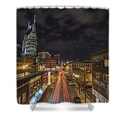 2nd Ave And Broadway Shower Curtain