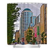 2nd Avenue - Seattle Washington Shower Curtain