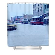 2nd Street Fairbanks Alaska 1969 Shower Curtain
