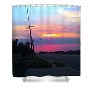 2suns Or ? Shower Curtain