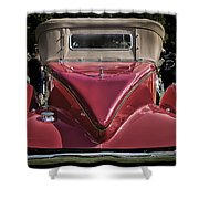 1930 Packard Model 734 Speedster Runabout Shower Curtain