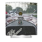 1931 Alfa Romeo Shower Curtain