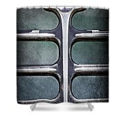 1933 Buick Emblem Shower Curtain