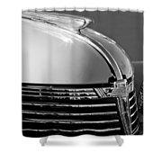 1933 Chevrolet Hood Ornament Shower Curtain