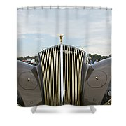 1937 47 Rolls Royce Shower Curtain