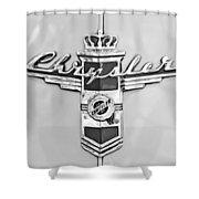 1948 Chrysler Town And Country Sedan Emblem Shower Curtain