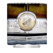 1949 Chrysler Windsor Grille Emblem Shower Curtain