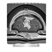 1953 Mercury Monterey Emblem Shower Curtain