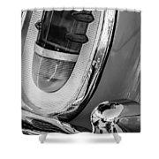 1955 Mercury Monterey Taillight Shower Curtain