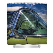 1956 Thunderbird Shower Curtain