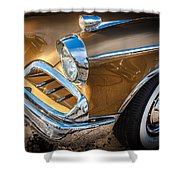 1957 Studebaker Golden Hawk  Shower Curtain