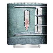 1958 Oldsmobile Emblem Shower Curtain