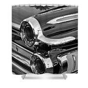 1962 Dodge Polara 500 Taillights Shower Curtain