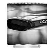 1966 Pontiac Gto Hood Emblem Shower Curtain