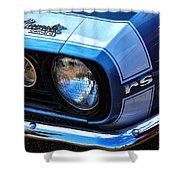 1967 Chevy Camaro Rs Shower Curtain