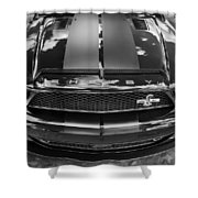 2008 Ford Shelby Mustang Gt500 Kr Painted Bw  Shower Curtain