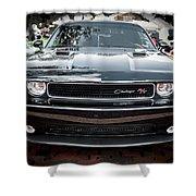 2013 Dodge Challenger  Shower Curtain
