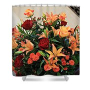 A Gallery's Flowers Shower Curtain