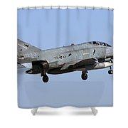 A German Air Force F-4f Phantom II Shower Curtain