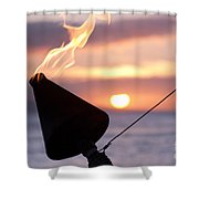 A Sense Sublime Shower Curtain