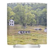 Abandonment Shower Curtain