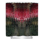 Abstract 117 Shower Curtain