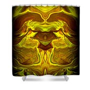 Abstract 118 Shower Curtain