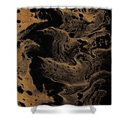 Abstract 24 Shower Curtain