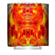 Abstract 70 Shower Curtain