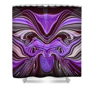 Abstract 77 Shower Curtain