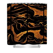 Abstract 81 Shower Curtain