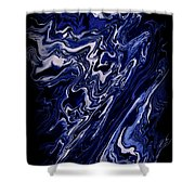 Abstract 84 Shower Curtain by J D Owen