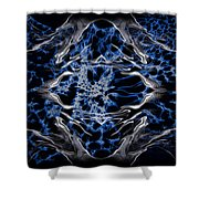 Abstract 97 Shower Curtain