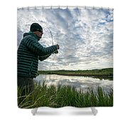 Adventures In Aniakchak, Ak Shower Curtain