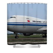 Air China Cargo Boeing 747 Shower Curtain