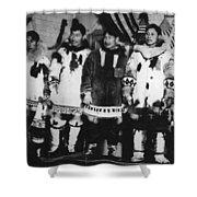 Alaska Eskimos, C1916 Shower Curtain