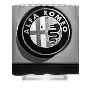 Alfa Romeo Emblem Shower Curtain