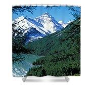 Altai Mountains Shower Curtain