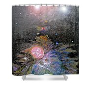 Aphrodite In Orion's Nebula Shower Curtain