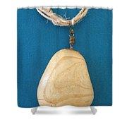 Aphrodite Urania Necklace Shower Curtain by Augusta Stylianou